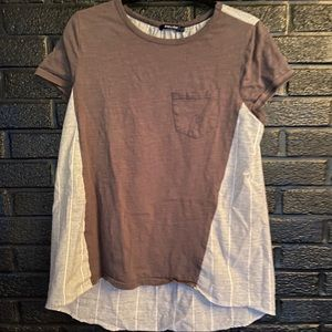 Doe & Rae Loose fitting top size Large
